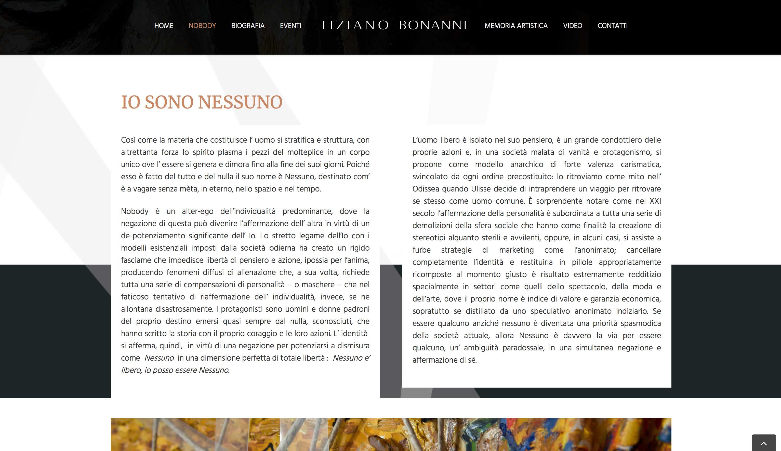 Tiziano Bonanni Pittore